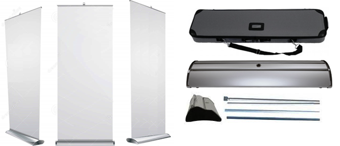 Premium Roll Up Banners Wild Cow Visual